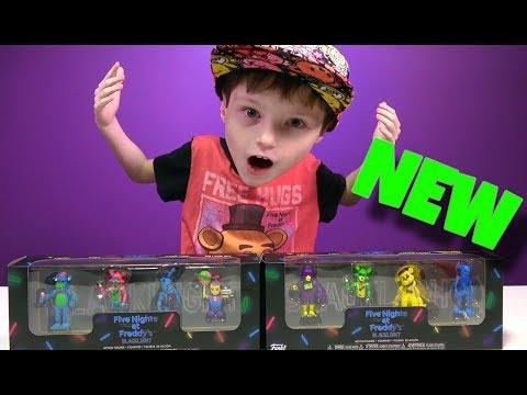 FUNKO FNAF Blacklight Mini Figures Box Sets UNBOXING Five Nights at Freddy's? thumbnail