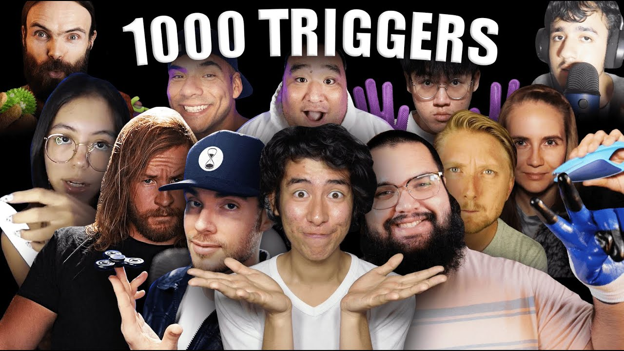 [ASMR] 1,000 TRIGGERS WITH FRIENDS! (The Epic Collab!)