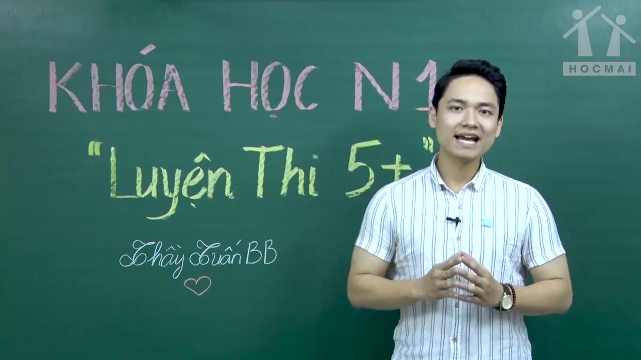 [ Luyện thi 5+] Giới thiệu khóa học – Tiếng Anh 12 – Thầy Tuấn BB