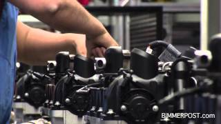 bmw n20 2 0l 4 cylinder inline turbo engine assembly