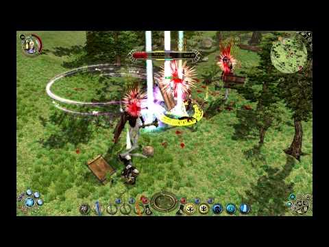 Sacred 2 Seraphim Celestial magic + moonyspawn mod