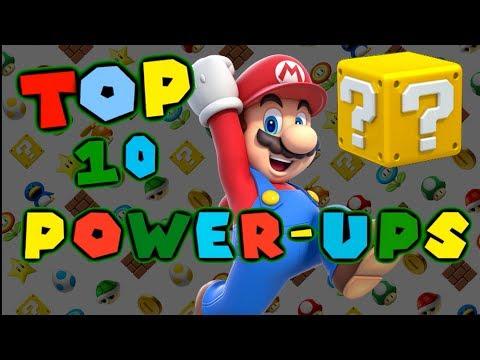 Top 10 Mario Powerups!