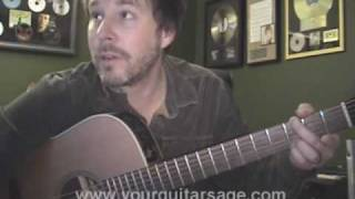 Guitar Lessons - Jumper by Third Eye Blind - cover chords yes man Beginners Acoustic songs