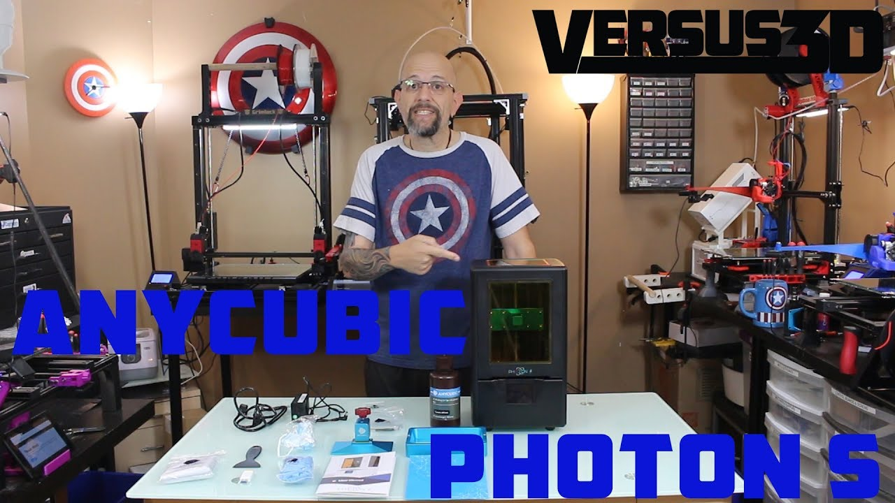 video ANYCUBIC Photon S 3D Printer
