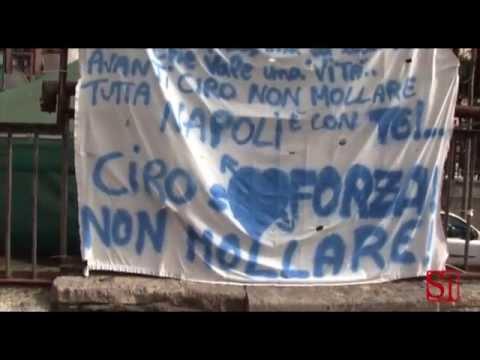 Napoli - Morte di Ciro Esposito, il Sindaco e i napoletani (25.06.14)