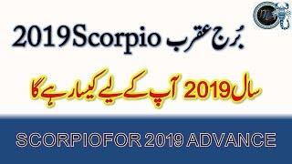 Scorpio 2019 Horoscope for year 2019 , Saal 2019 me Burj e Aqrab