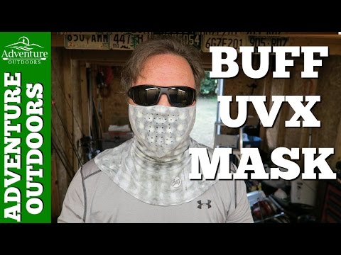 Buff UVX Mask Review ~ Great Sun Protection When I Go Fishing