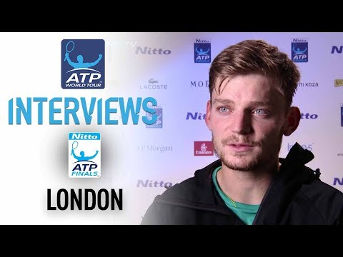 Goffin Looks Ahead To SFs At Nitto ATP Finals 2017