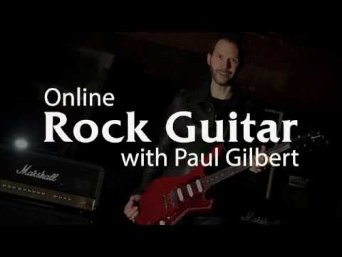 Rock Guitar Lessons with Paul Gilbert - Intro - YouTube