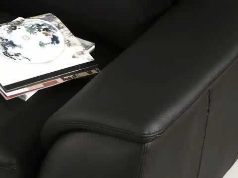 ViveDecor.com Monaco Leather Sofa Set By Abbyson Living