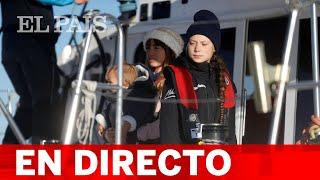 #COP25 DIRECTO | La llegada de GRETA THUNBERG a Lisboa