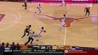 Texas vs. Purdue Men's Basketball Highlights