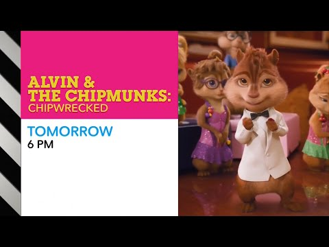 CN Dimensional - MOVIE PROMO - Alvin and The Chipmunks: Chipwrecked