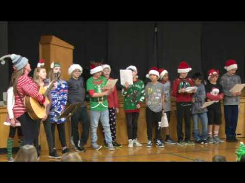 BMS Holiday Sing Along, 2018