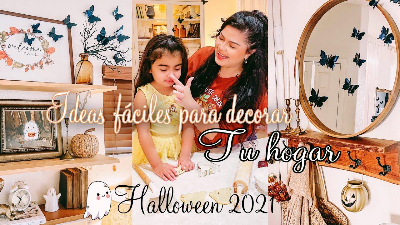 Ideas para decorar el hogar 🍂 halloween 2021 👻 decoración Amazon finds 🦋 diy Halloween decor 🎃