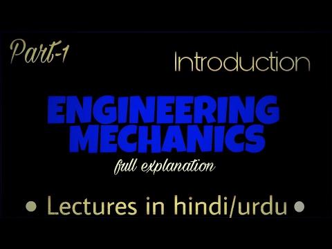 Introduction 1- Engineering Mechanics in...