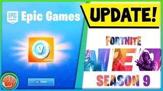 * FREE * 32,400 V-Bucks gotten from Fortnite... Latest Update Video Season 8!!