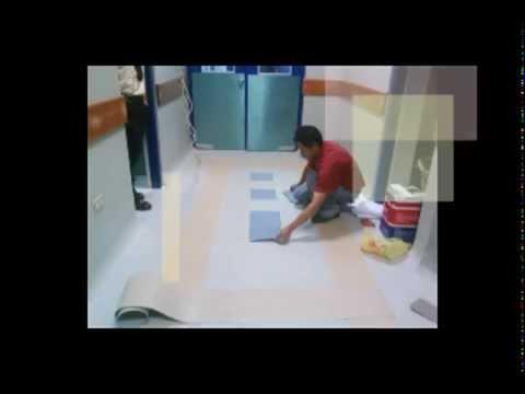 Instalacion de piso vinilico en rollo youtube - Instalacion piso vinilico en rollo ...