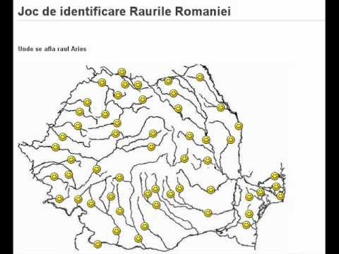 Joc Judetele Romaniei