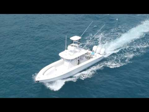 Bahama 41 Helicopter Video