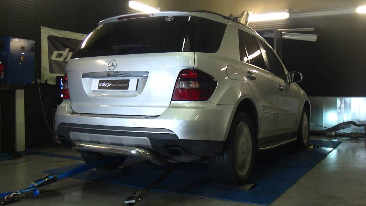 reprogrammation moteur mercedes ml 320 cdi 224cv 274cv dyno digiservices paris youtube. Black Bedroom Furniture Sets. Home Design Ideas