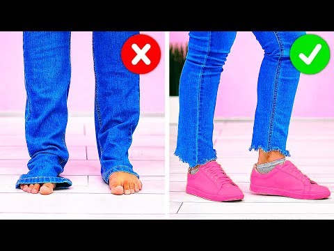 32 BUDGET CLOTHING HACKS YOU MUST KNOW thumbnail