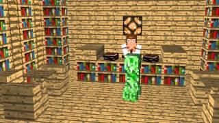 Не шумите в библиотеке, пожалуйста :D [Short Minecraft Animatoin]