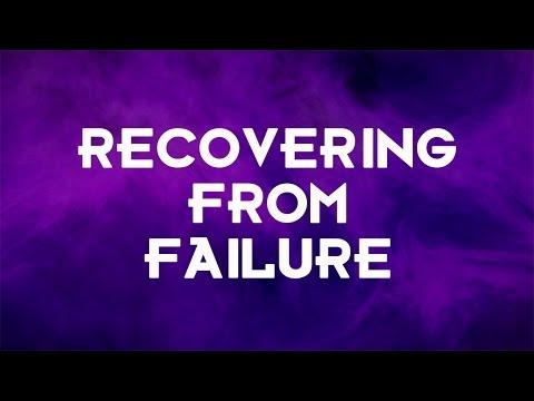Recovering from failure   Pastor Jason Baumgardner