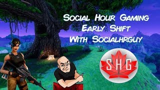 Fortnite Season 3 Early Shift - Social Hour Gaming with Socialhrguy - Fortnite New Skins