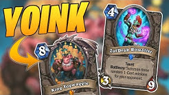 Togwaggle Druid YOINKS decks! | Togwaggle Druid | Descent of Dragons | Wild Hearthstone