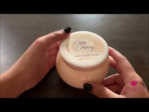 oriflame-milk-and-honey-gold-hand-and-body-cream-review-in-hindi---by-healthandbeautystation