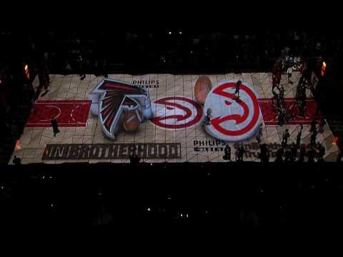 Atlanta Hawks Intro - 01/27/17