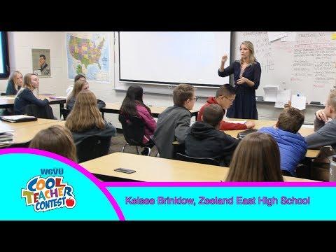 Cool Teacher Kelsee Brinklow,  Zeeland East High School
