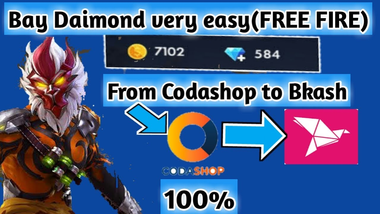 How To Top Up Free Fire Daimond Easy Tips For Topup Daimomd With Bkash Youtube