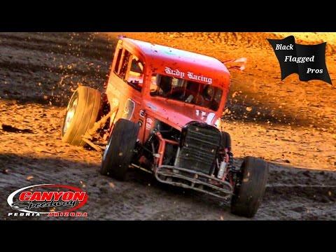 DwarfCar Main At Canyon Speedway Park September 4th 2016