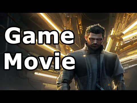 Deus Ex: Mankind Divided All Cutscenes - Game Movie