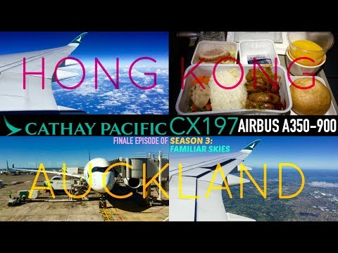Cathay Pacific CX197 : Flying from Hong Kong to Auckland