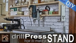 Drill Press Stand (Free Plans)