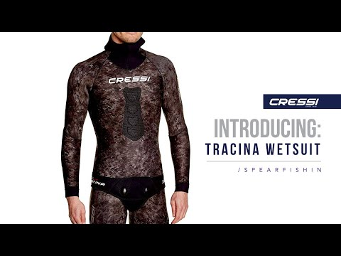 Introducing : TRACINA WETSUIT CRESSI