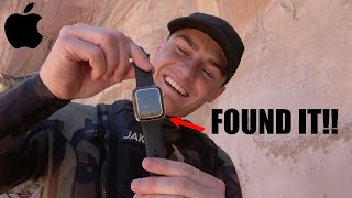 He Found my GOLD Apple Watch Underwater!!