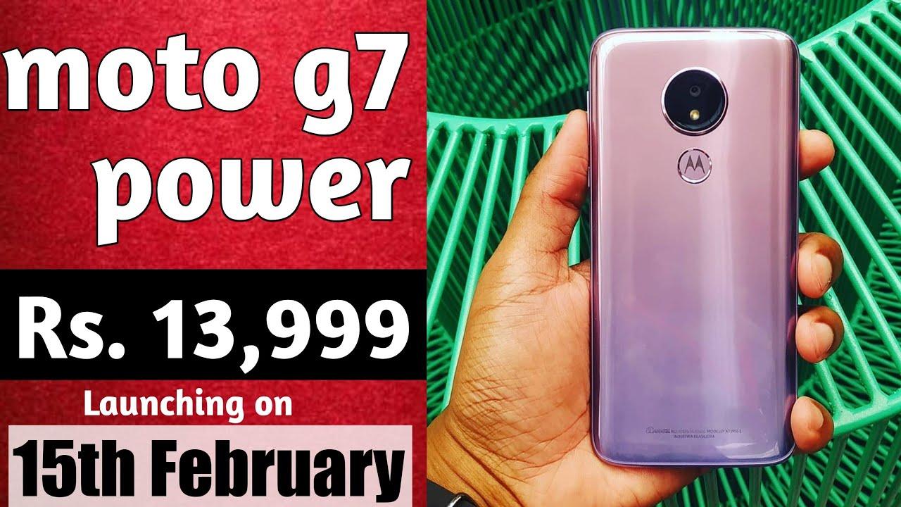 ddf8d7ca9e5 Moto G7 Power at Rs. 13
