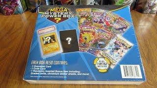 Pokemon MEGA Mystery Power Box Opening