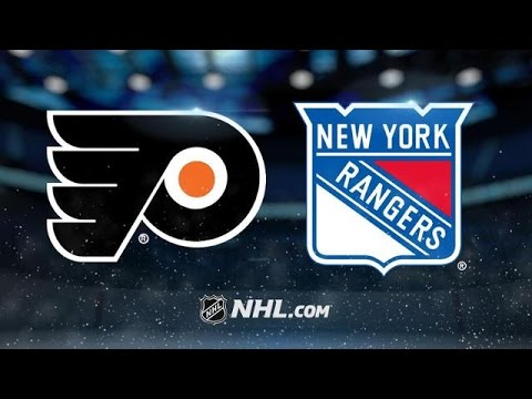 Philadelphia Flyers vs New York Rangers NHL Game Recap