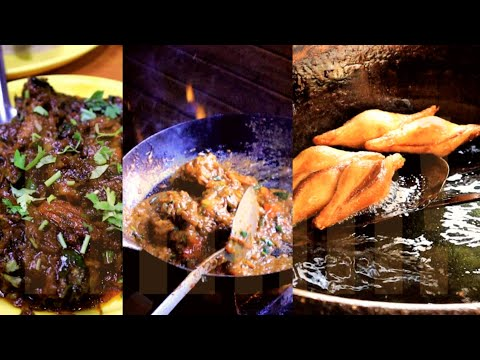 Street Food in INA market | Mutton Roast | Dahi ke Shole | Delhi | Hmm!