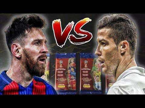 Simulación de partido ARGENTINA vs PORTUGAL (MUNDO PARALELO) - Cards Panini Rusia 2018
