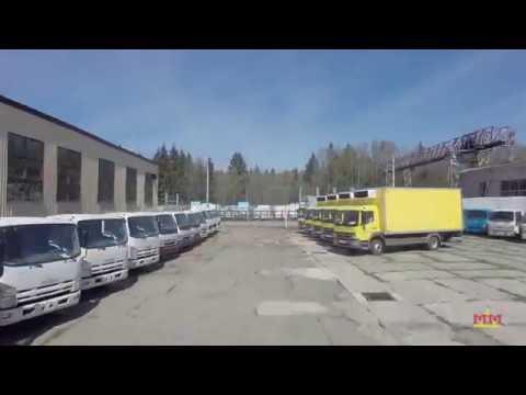"""Изотермические фургоны """"Мосдизайнмаш""""."""