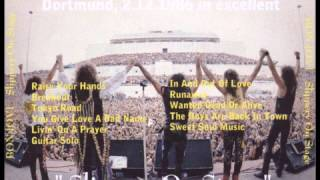 Скачать Bon Jovi Live In Dortmund Germany 1986 FULL