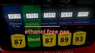 Ethanol-free gas near me