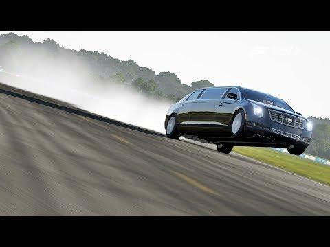 Racha Sinistro Com A Limousine Do Donald Trump Na Pista Mais Difícil Do Mundo - Forza Motorsport 7