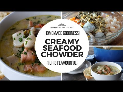 Extremely Amazing CREAMY SEAFOOD CHOWDER | Tasty & Flavourful!